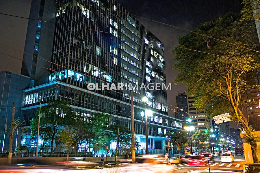 Edificio do Palacio Anchieta, sede da Camara Municipal de Sao Paulo. 2014. Foto de Alf Ribeiro.
