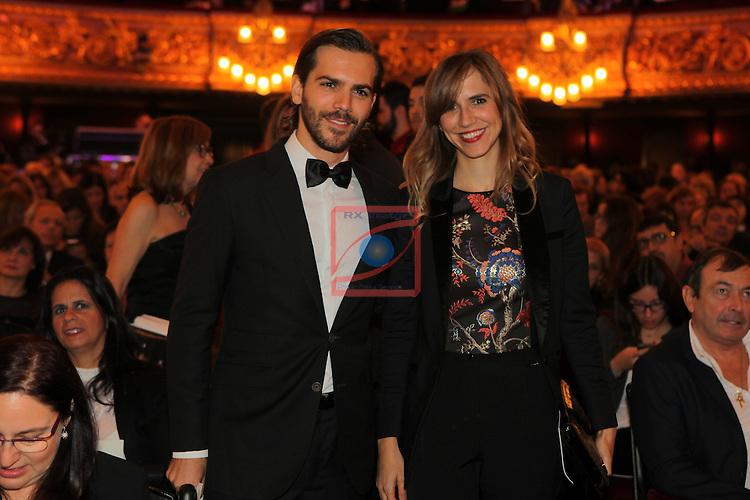 63 Premios Ondas.<br /> Gala de Entrega de los premios.<br /> Marc &amp; Aina Clotet.