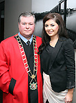 Mayor Paul Bell with Dawn Finnegan at the Civic Reception for Louth GAA Team in the dHotel....Picture Jenny Matthews/Newsfile.ie