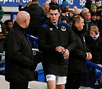 Michael Keane of Everton starts the match on the bench during the premier league match at the Goodison Park Stadium, Liverpool. Picture date 2nd December 2017. Picture credit should read: Simon Bellis/Sportimage