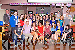 BIRTHDAY FUN: Denise Culhane, Castleisland (seated 3rd left) having a wonderful time celebrating her 30th birthday with family and friends at O'Riada's bar and restaurant, Ballymac on Saturday.