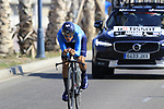 Andrey Amador (CRC) Movistar Team during Stage 1 of the La Vuelta 2018, an individual time trial of 8km running around Malaga city centre, Spain. 25th August 2018.<br /> Picture: Eoin Clarke | Cyclefile<br /> <br /> <br /> All photos usage must carry mandatory copyright credit (© Cyclefile | Eoin Clarke)