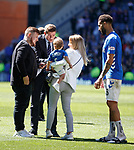 12.05.2019 Rangers v Celtic: Steven Gerrard and Connor Goldson