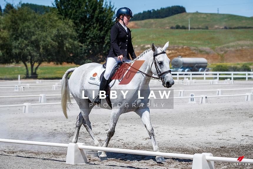 Class 953 Fiber Fresh Para-Equestrian (Q). 2020 NZL-Equestrian Entries NZ Youth Dressage Festival. Saturday 25 January. Copyright Photo: Libby Law Photography
