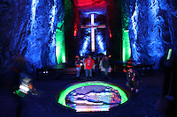 Zipaquirá-Colombia-29-12-2012.Catedral de sal Zipaquirá,Colombia.Salt Cathedral in Zipaquira,Colombia.Photo: VizzorImage/Felipe Caicedo.