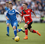 Barrie McKay flying up the wing