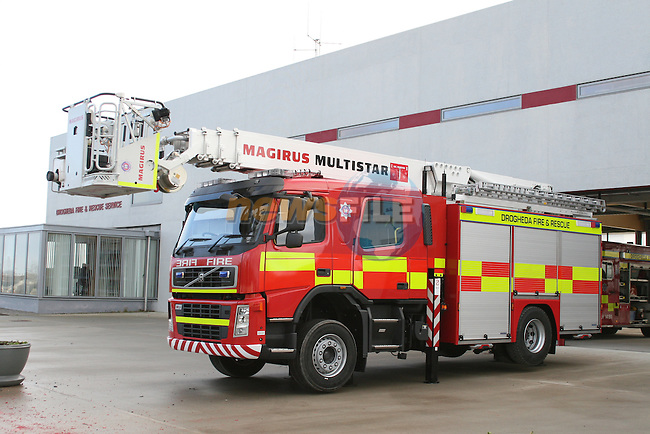 New Fire Appliance, Drogheda Fire Station...Photo NEWSFILE/Jenny Matthews.(Photo credit should read Jenny Matthews/NEWSFILE)....This Picture has been sent you under the condtions enclosed by:.Newsfile Ltd..The Studio,.Millmount Abbey,.Drogheda,.Co Meath..Ireland..Tel: +353(0)41-9871240.Fax: +353(0)41-9871260.GSM: +353(0)86-2500958.email: pictures@newsfile.ie.www.newsfile.ie.FTP: 193.120.102.198.