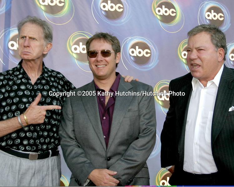 Rene Auberjonois.James Spader.William Shatner.ABC TCA Party.The Abby.W. Hollywood, CA.July 27, 2005.©2005 Kathy Hutchins/Hutchins Photo..