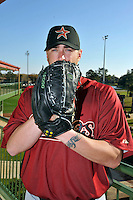 Feb 25, 2010; Kissimmee, FL, USA; The Houston Astros pitcher Brett Myers (39) during photoday at Osceola County Stadium. Mandatory Credit: Tomasso De Rosa / Four Seam Images