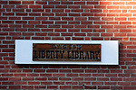 Library, Liberty, Maine, USA, Waldo County