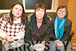 OPEN: Enjoying the open evening at the newly refurbished Killorglin Family Resource Centre on Thursday, l-r: Helen Horgan, Betty Hoare, Eileen Scannell.