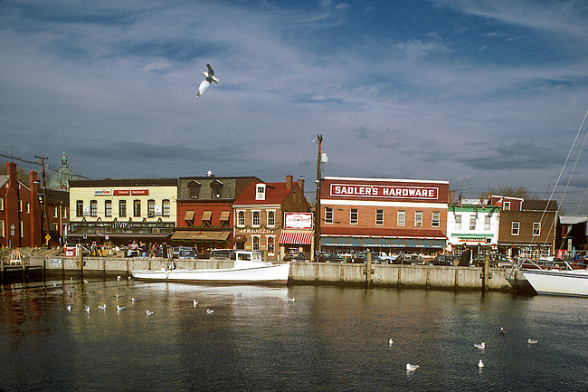 Old Waterfront, Annapolis, Maryland