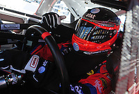 Apr 10, 2008; Avondale, AZ, USA; NASCAR Sprint Cup Series driver Jeff Burton during practice for the Subway Fresh Fit 500 at Phoenix International Raceway. Mandatory Credit: Mark J. Rebilas-
