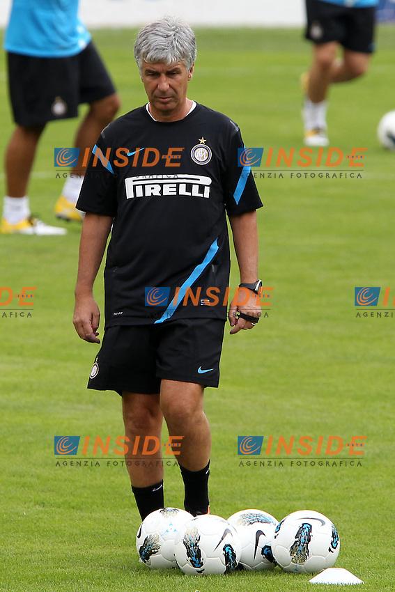Pinzolo (TN) 10/07/2011.Football Inter FC summer training camp/ Calcio Ritiro estivo Inter FC .Giampiero Gasperini.Foto Paolo Nucci Insidefoto