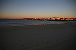 Bondi Beach at Sunrise. Sydney, Australia.  Sunday 11th August  2013.(Photo: Steve Christo)