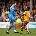 Kenny mcLean and Gael Bigirimana