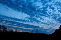 Carolina Blue Sunset Sky Chapel Hill North Carolina USA By Jonathan L Green