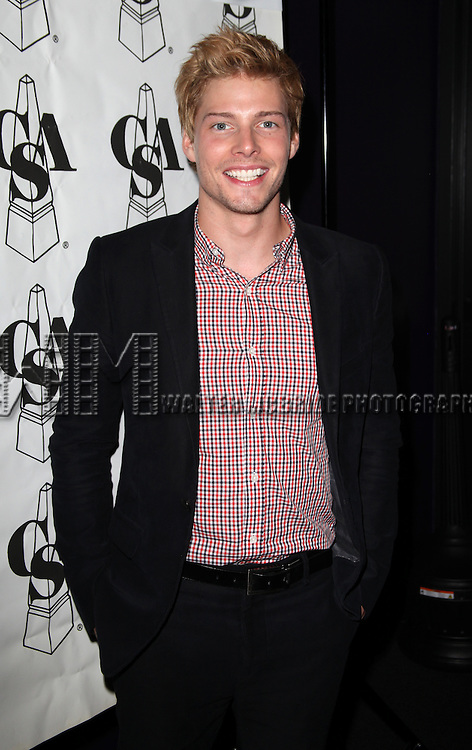 Hunter Parrish.attending the The 27th Annual Artios Awards for Outstanding Achievements in Casting in New York City.