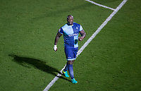 Adebayo Akinfenwa of Wycombe Wanderers during the Sky Bet League 2 match between Wycombe Wanderers and Plymouth Argyle at Adams Park, High Wycombe, England on 14 March 2017. Photo by Andy Rowland / PRiME Media Images.