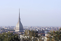 Una veduta di Torino, con la Mole Antonelliana.<br /> A view of Turin, with his symbol, the Mole Antonelliana.<br /> UPDATE IMAGES PRESS/Riccardo De Luca