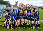 Kilkee/Kilbaha celebrate following their Schools Division 6 final at Cusack Park. Photograph by John Kelly