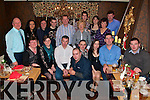 Moyvane Badminton Club Night Out: Enjoying their annual Christmas Dinner are members of the Moyvane Badminton Club in The Horseshoe Bar in Listowe on Saturday night.
