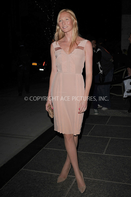 WWW.ACEPIXS.COM . . . . . .April 19, 2012...New York City....Maggie Rizer arriving to the Cinema Society & Men's Health screening of 'The Lucky One' at the Crosby Street Hotel on April 19, 2012  in New York City ....Please byline: KRISTIN CALLAHAN - ACEPIXS.COM.. . . . . . ..Ace Pictures, Inc: ..tel: (212) 243 8787 or (646) 769 0430..e-mail: info@acepixs.com..web: http://www.acepixs.com .
