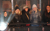Billie Faiers, mother Suzanne Wells, and Aunt at Celebrity Big Brother 2014 - Contestants Enter The House, Borehamwood. 03/01/2014 Picture by: Henry Harris / Featureflash