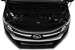 Car stock 2020 Opel Vivaro Innovation 4 Door Cargo Van engine high angle detail view