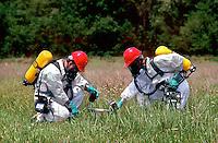Testing for toxic soil contamination