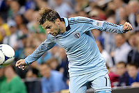 Bobby Convey Sporting KC in action... Sporting Kansas City defeated New England Revolution 3-0 at LIVESTRONG Sporting Park, Kansas City, Kansas.