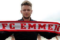 EMMEN - Voebal, Presentatie Wouter Marinus bij FC Emmen , seizoen 2018-2019, 12-06-2018