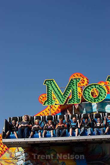 moby dick ride, Utah State Fair.Saturday September 19, 2009 in Salt Lake City.