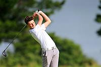 Johnny Strang (Royal Portrush) during the final round at Carnalea Golf Club, Bangor, Antrim, Northern Ireland. 07/08/2019.<br /> Picture Fran Caffrey / Golffile.ie<br /> <br /> All photo usage must carry mandatory copyright credit (© Golffile | Fran Caffrey)