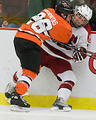 Matt Arhontas (Princeton - 26), Conor Morrison (Harvard - 38) - The Princeton University Tigers defeated the Harvard University Crimson 2-1 on Friday, January 29, 2010, at Bright Hockey Center in Cambridge, Massachusetts.