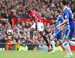 Paul Pogba of Manchester United during the English Premier League match at Old Trafford Stadium, Manchester. Picture date: April 16th 2017. Pic credit should read: Simon Bellis/Sportimage