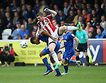 Sheffield United's John Fleck in action during the League One match at the Kingsmeadow Stadium, London. Picture date: September 10th, 2016. Pic David Klein/Sportimage