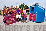 A new clothing bin has been acquired in Duagh to help with funds for Bord na nOg. Pictured were: Hayley, McElligott, Niamh Buckley, Sadie O'Connor, Jack O'Carroll, Killian Buckley, Justin Cotter, Tom O'Connor, Ciara Cotter, Larry O'Connor, Sam McElligott, Rose Collins, Doreen Buckley, Marie O'Carroll Sinead Buckley, Anny McElligott, Cody Collins and Cian O'Carroll.