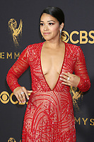 LOS ANGELES - SEP 17:  Gina Rodriguez at the 69th Primetime Emmy Awards - Arrivals at the Microsoft Theater on September 17, 2017 in Los Angeles, CA