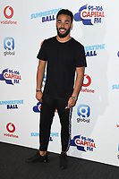 Yungen in the press room for the Capital Summertime Ball 2018 at Wembley Arena, London, UK. <br /> 09 June  2018<br /> Picture: Steve Vas/Featureflash/SilverHub 0208 004 5359 sales@silverhubmedia.com