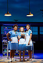 Waitress.A Musical. Music and Lyrics by Sara Bareilles,Book by Jessie Nelson, Based on the movie written by Adrienne Shelly. Directed by Diane Paulus.With Marisha Wallace as Becky,Laura Baldwin as Dawn, Katherine McPhee as Jenna, . Opens at The Adelphi Theatre on 7/3/19 pic Geraint Lewis EDITORIAL USE ONLY
