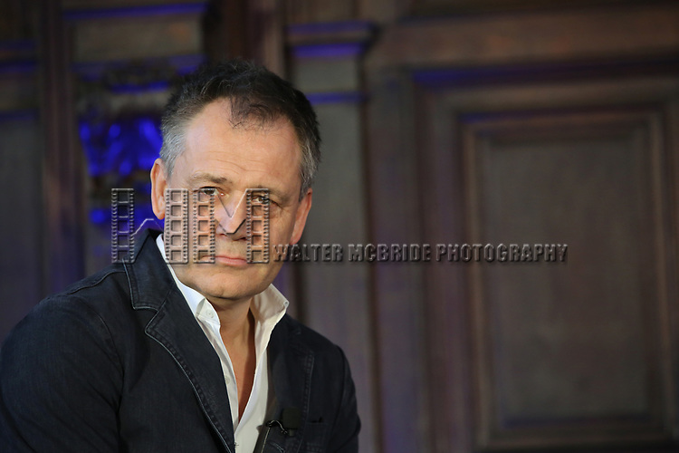 Michael Grandage attends the press day for 'Frozen' The Broadway Musical on February 13, 2018 at the Highline Hotel in New York City.