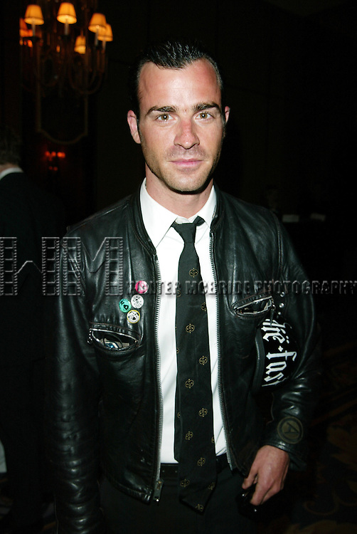 JUSTIN THEROUX.Attending the Sixty-Ninth Annual Drama League Awards Luncheon at the Grand Hyatt Hotel in.New York City..May 9, 2003.Credit All Uses.© Walter McBride / , USA