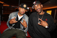 NEW YORK, NY - SEPTEMBER 26:..Lenny S. & DJ Clue attend the NBA 2K13 Premeire at 40/40.....© Walik Goshorn / Retna Ltd. /MediaPunch Inc. /NortePhoto