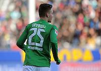 FUSSBALL   1. BUNDESLIGA   SAISON 2011/2012    20. SPIELTAG  05.02.2012 SC Freiburg - SV Werder Bremen Tom Trybull (SV Werder Bremen)