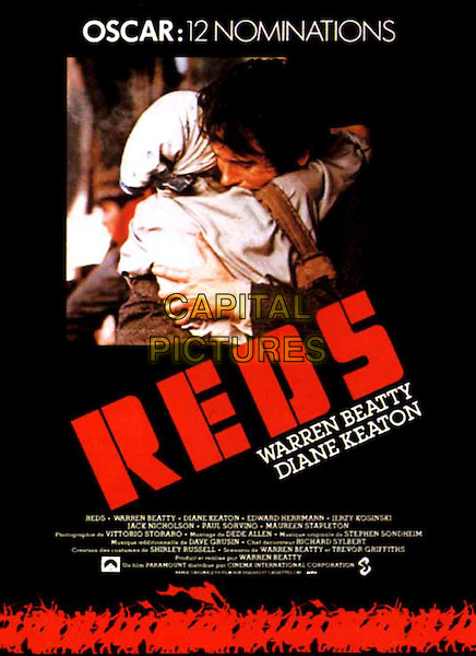 FRENCH POSTER ART.in Reds.*Editorial Use Only*.Ref: FB.www.capitalpictures.com.sales@capitalpictures.com.Supplied by Capital Pictures.