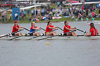 Race: 71  Event: W J15 4x+   Final B <br /> <br /> Junior Inter Regional Regatta 2018<br /> <br /> To purchase this photo, or to see pricing information for Prints and Downloads, click the blue 'Add to Cart' button at the top-right of the page.