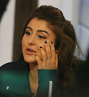 NEW YORK, NY- September 09: Bianca Andreescu at Good Morning America to talk about her US Open 2019 win over Serena Williams on September 09, 2019  in New York City. Credit: RW/MediaPunch<br /> CAP/MPI04<br /> ©MPI04/Capital Pictures