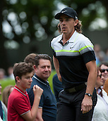 24.05.2015. Wentworth, England. BMW PGA Golf Championship. Final Round.  Tommy Fleetwood [ENG] starts the day three shots off the lead.  During the final round of the 2015 BMW PGA Championship from The West Course Wentworth Golf Club