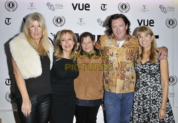 LONDON, ENGLAND - SEPTEMBER 29: Wendy Thomas, Elana Krausz, Jane Spencer, Michael Madsen &amp; Julia Verdin attend the &quot;The Ninth Cloud&quot; UK film premiere, Raindance film festival, Vue Piccadilly cinema, Lower Regent St., on Monday September 29, 2014 in London, England, UK. <br /> CAP/CAN<br /> &copy;Can Nguyen/Capital Pictures